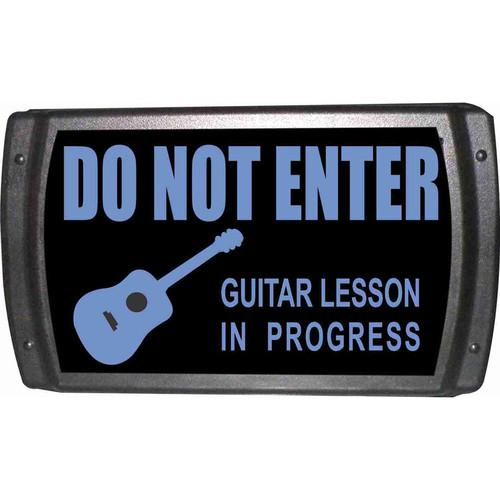 American Recorder OAS-2006-BL GUITAR LESSON Sign OAS-2006-BL