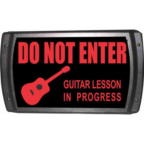 American Recorder OAS-2006-RD GUITAR LESSON Sign OAS-2006-RD