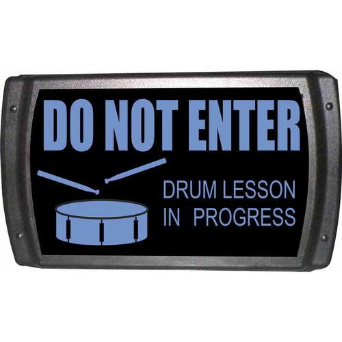 American Recorder OAS-2007-BL DRUM LESSON Sign OAS-2007-BL