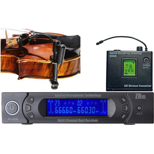 AMT VS-5B Beltpack Wireless Violin Microphone System VS-5B