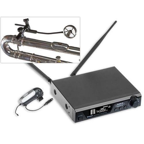 AMT Wireless Alto and Bass Flute Microphone System Q7-Z1L
