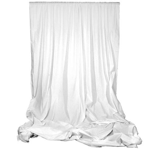 Angler Muslin Background (White, 10 x 12') 2543-W-1012