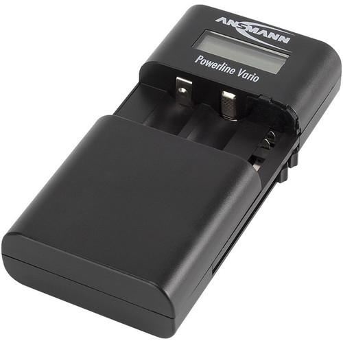 Ansmann Powerline Vario Charger for Li-Ion / Li-Po 1001-0020-US