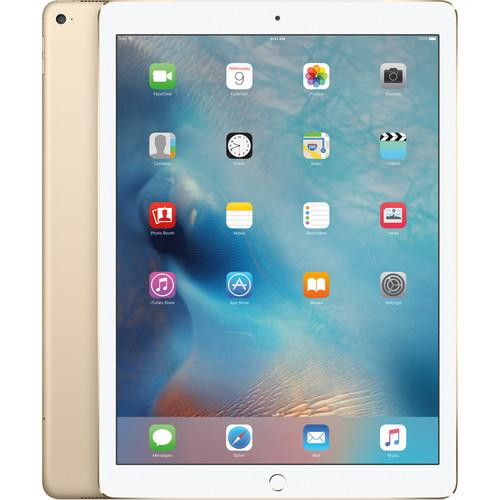Apple 128GB iPad Pro (Wi-Fi   4G LTE, Gold) ML3Q2LL/A