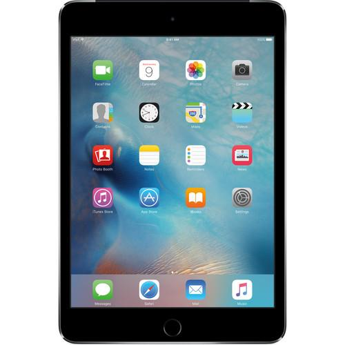 Apple 64GB iPad mini 4 (Wi-Fi   4G LTE, Space Gray) MK892LL/A