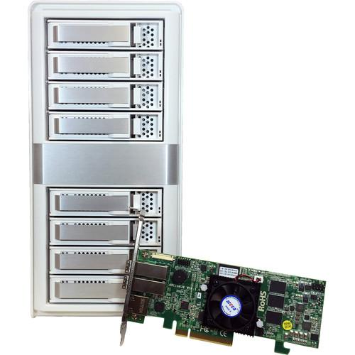 Areca ARC-4038X 8-Bay 12Gb/s SAS Tower JBOD Enclosure ARC-4038X