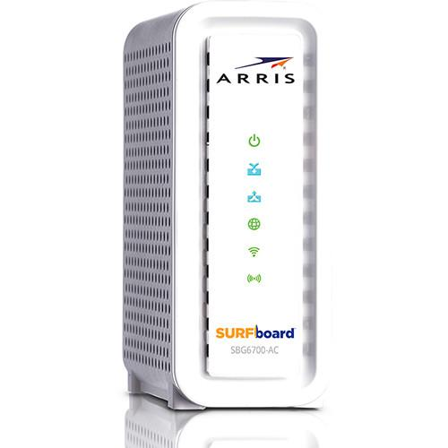 ARRIS SBG6700 SURFboard Cable Modem & Wi-Fi Router SBG6700