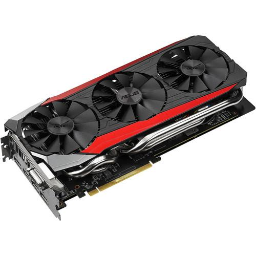 ASUS Strix Radeon R9 390 Graphics Card STRIX-R9390-DC3OC-8GD5-GA