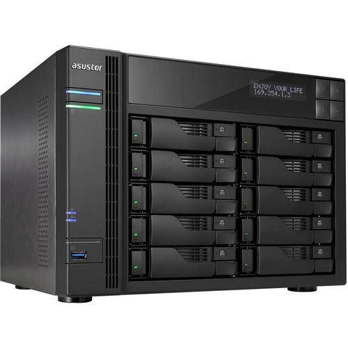 Asustor 10-Bay NAS Server with Intel Celeron 2.0 GHz AS5110T