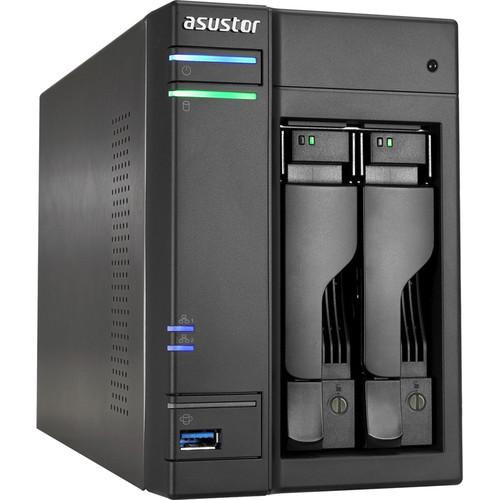 Asustor 2-Bay NAS Server with Intel Celeron 2.0 GHz AS5102T