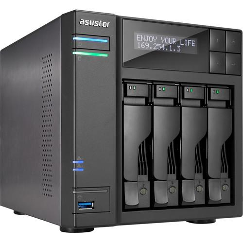 Asustor 4-Bay NAS Server with Intel Celeron N3150 AS6204T