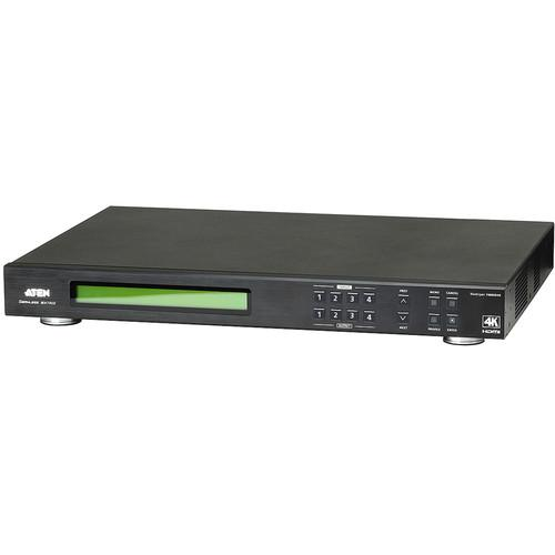 ATEN VM6404H 4 x 4 4K HDMI Matrix Switch with Scaler VM6404H