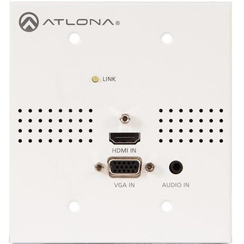 Atlona Blank Face Plate for HDVS-Series Wall AT-HDVS-TX-WP-NB