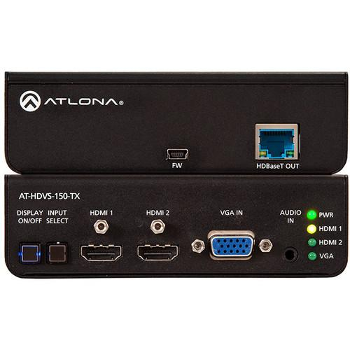 Atlona Three-Input HDMI / VGA to HDBaseT Switcher AT-HDVS-150-TX