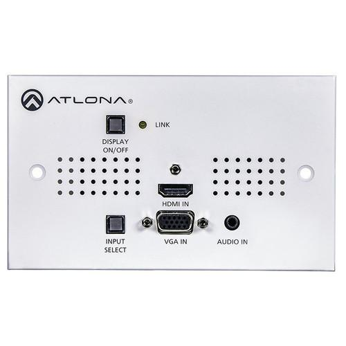 Atlona Two-Input HDMI / VGA to HDBaseT UK AT-HDVS-150-TX-WP-UK