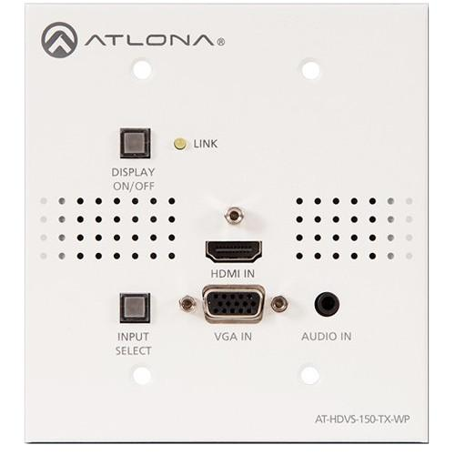 Atlona Two-Input HDMI / VGA to HDBaseT US Wall AT-HDVS-150-TX-WP