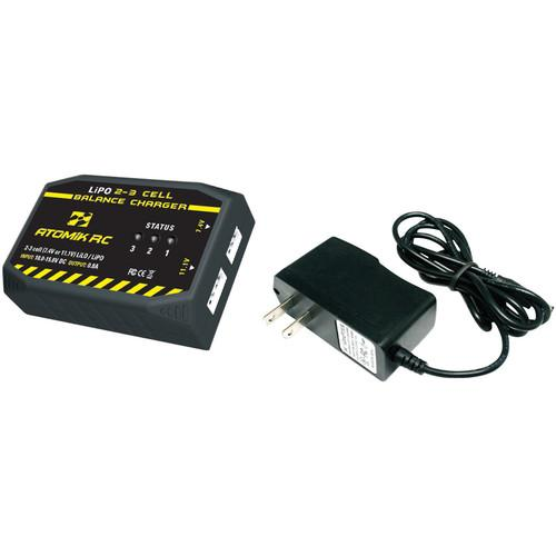 Atomik RC Atomik 2- to 3-Cell LiPO Balance Charger 0681