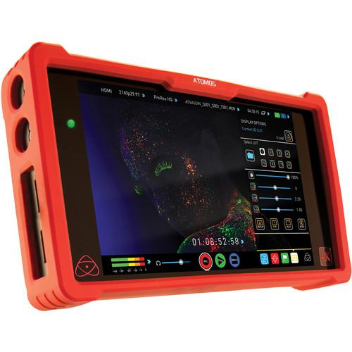 Atomos Ninja Assassin 4K HDMI Recorder and 7