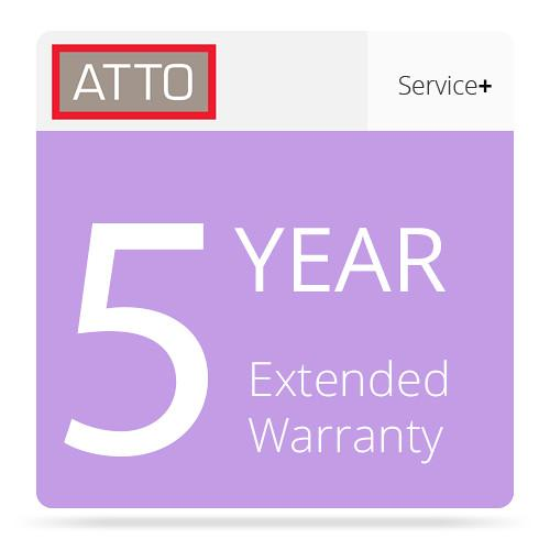 ATTO Technology 5-Year Extended Warranty for ATTO SER1-WAR5-000