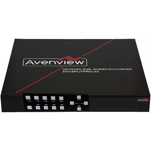 Avenview Dual-Screen Multiviewer with Rotation DVI-SPLITPRO-2X