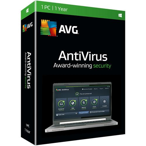 AVG AntiVirus 2016 (Download, 1 User, 1-Year) AV16N12EN001