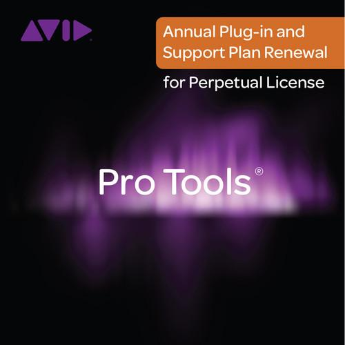 Avid Pro Tools Annual Plug-Ins and Support Plan 99356607100