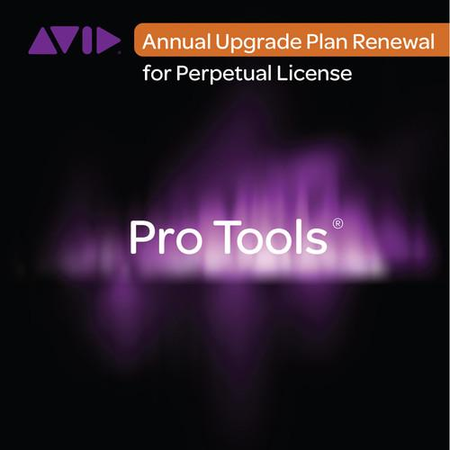 Avid Pro Tools Annual Upgrade Plan (Activation Card) 99356606900