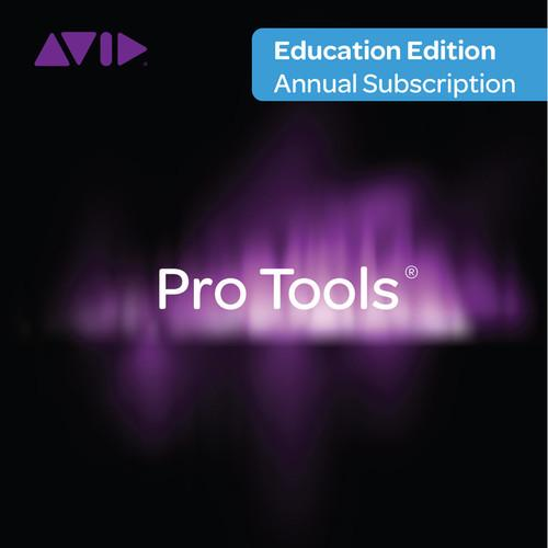 Avid Pro Tools Subscription - Audio and Music 99356590300