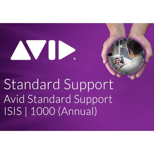 Avid Standard Software Support for ISIS 1000 20TB 9920-65276-00
