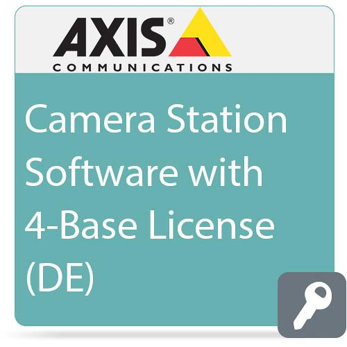 Axis Communications Camera Station Software with 4-Base 0202-210
