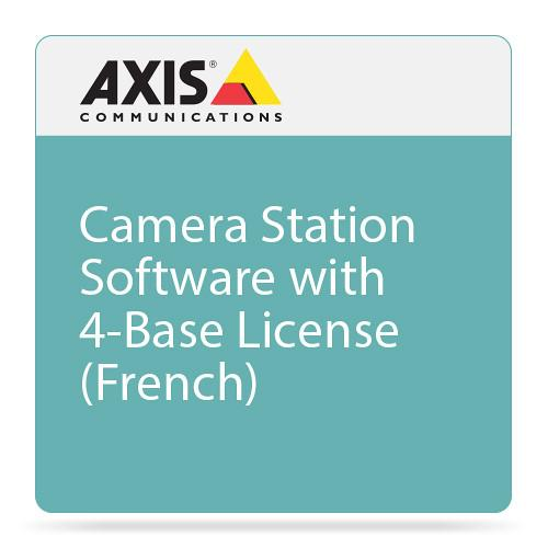 Axis Communications Camera Station Software with 4-Base 0202-220