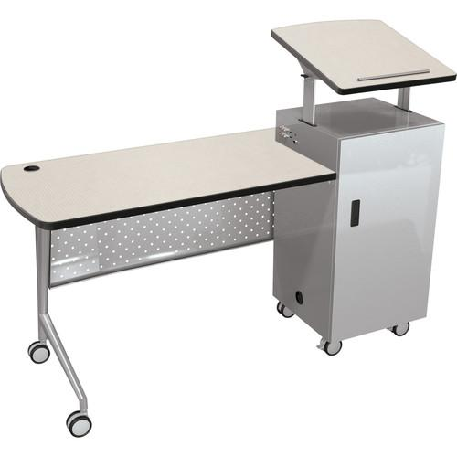 Balt  Trend Podium Desk (Gray Mesh) 58229-4877