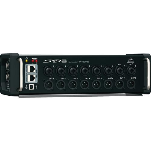 Behringer  SD8 - I/O Stage Box with 8 Preamps SD8