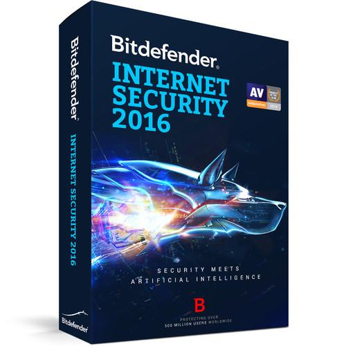 Bitdefender  Internet Security 2016 UL11032010-EN