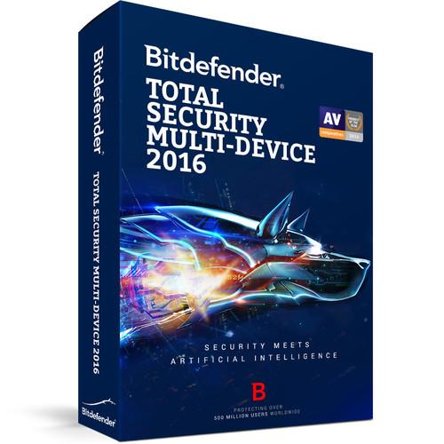 Bitdefender Total Security Multi-Device 2016 BL11912003-EN