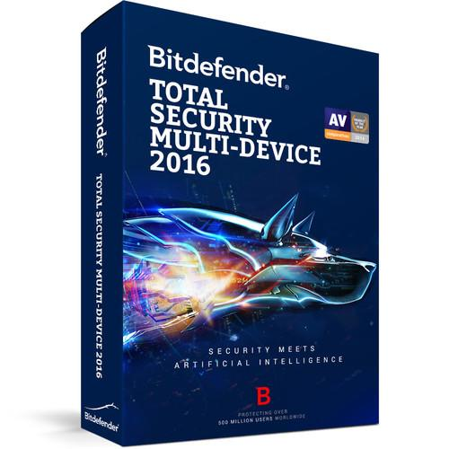Bitdefender Total Security Multi-Device 2016 BL11913005-EN
