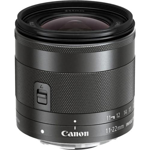 Canon  EF-M 11-22mm f/4-5.6 IS STM Lens 7568B002