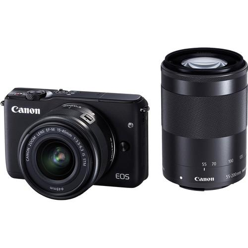 Canon EOS M10 Mirrorless Digital Camera with 15-45mm 0584C031
