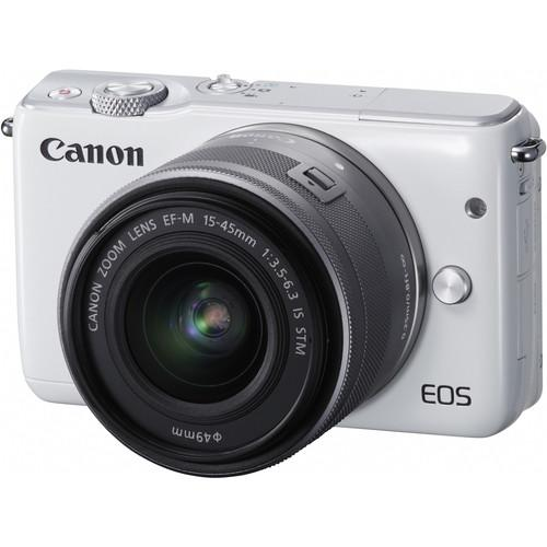 Canon EOS M10 Mirrorless Digital Camera with 15-45mm 0922C011