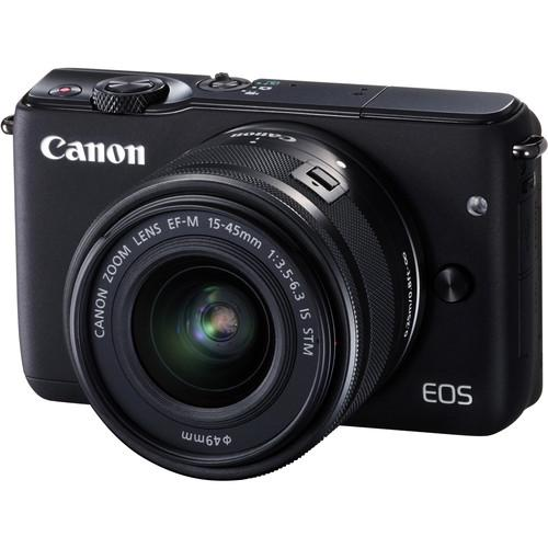 Canon EOS M10 Mirrorless Digital Camera with 15-45mm Lens Basic