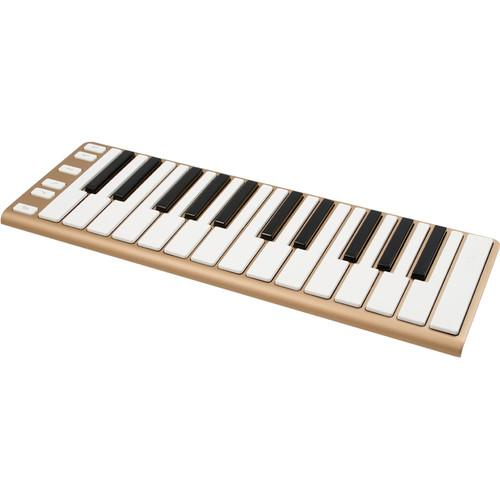 CME  Xkey - Mobile MIDI Keyboard (Gold) XKEY GOLD