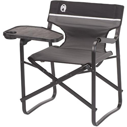 Coleman Aluminum Deck Chair with Swivel Table 2000020295