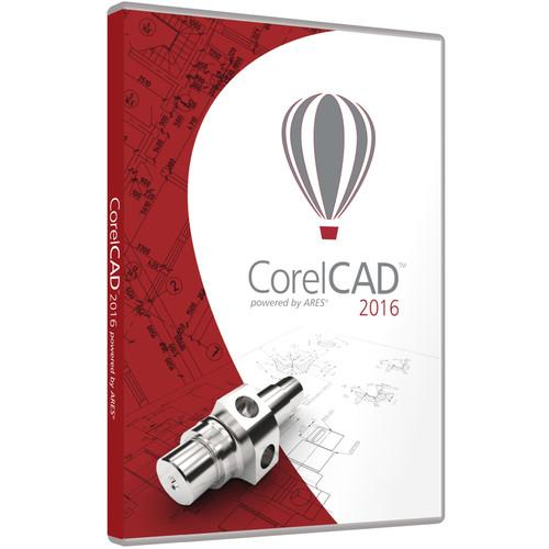 Corel CorelCAD 2016 (Mac and Windows, DVD) CCAD2016MLPCM