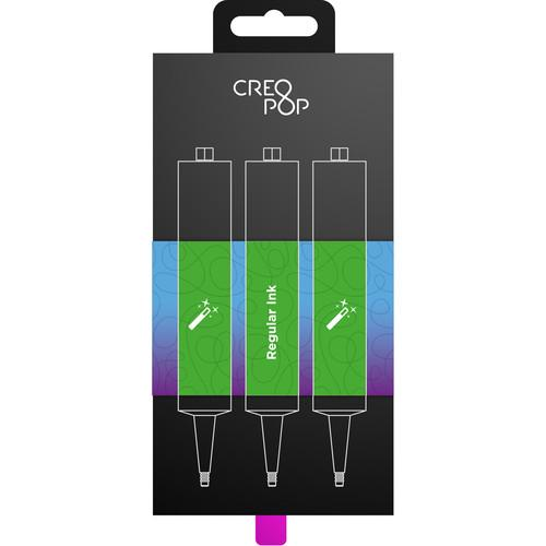 CreoPop  Regular Ink 3-Pack (Green) SKU006