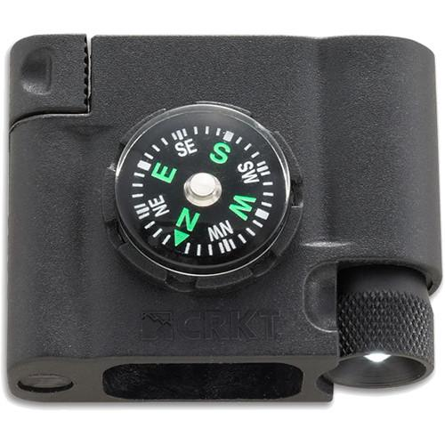 CRKT Compass/LED/Firestarter Survival Bracelet Accessory 9703