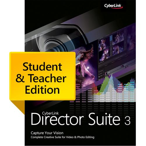 CyberLink Director Suite 3 Student & DRS-0300-IWT0-00-EDU
