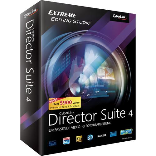 CyberLink Director Suite 4 (Windows, DVD) DRS-E400-RPM0-00