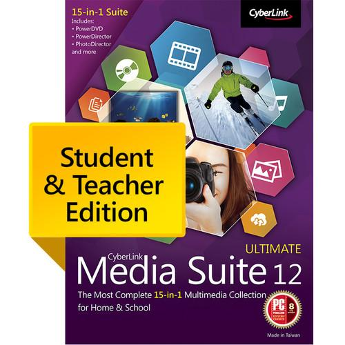 CyberLink Media Suite 12 Ultimate Student MES-0C00-IWM0-00-EDU