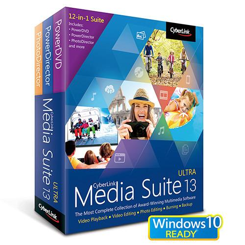 CyberLink  Media Suite 13 Ultra MES-ED00-RPU0-00
