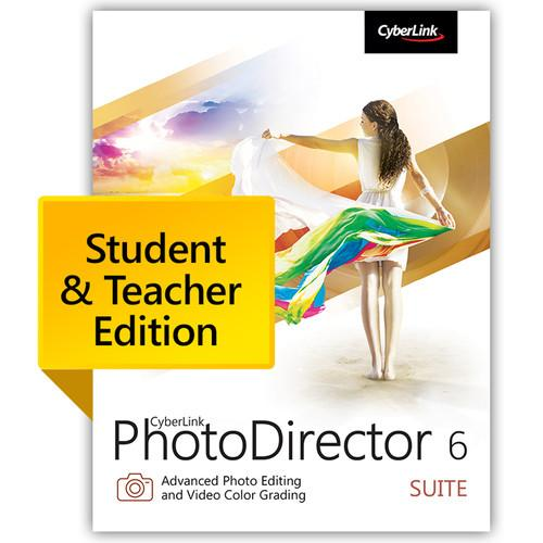 CyberLink PhotoDirector 6 Suite PHS-0600-IWU0-00-EDU